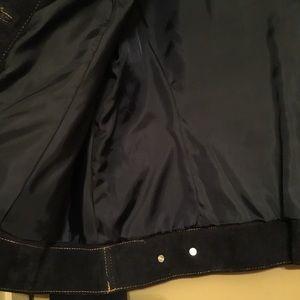 Isaac Mizrahi Jackets & Coats - ⚫️🔵 LADIES ISAAC MIZRAHI GENUINE SUEDE COAT 🔵⚫️